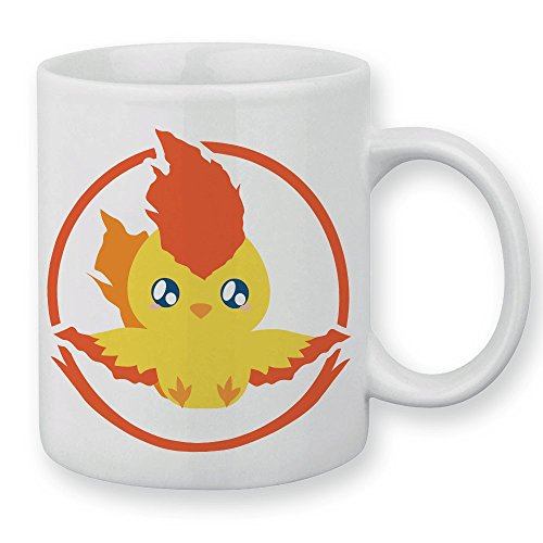 Mug Pokemon Sulfura Pokemon chibi et kawaii team Valor by Fluffy chamalow - Fabriqué en France - Chamalow shop