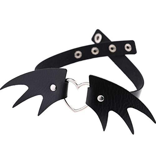 Schlüsselbein Halskette Punk Stil Halloween Kostüm Accessoire ()