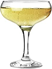 Pasabahce Bistro Champagne Glass, 270 ml, Set of 6