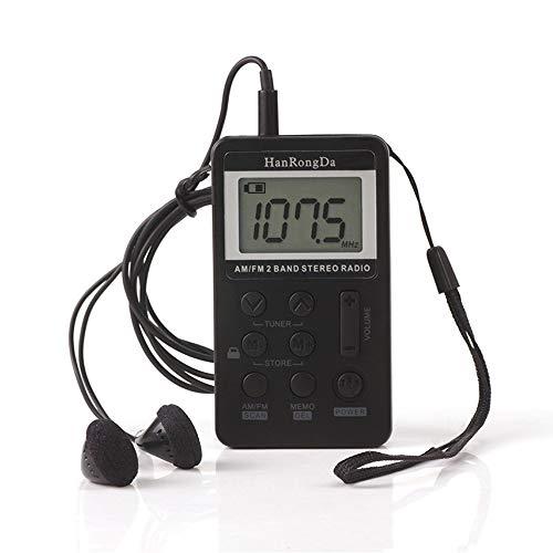 Tragbares Radio 5W Retro Weinlese drahtloser Bluetooth Lautsprecher Multimedia HiFi Stereo Kopfhörer Unterstützung FM morgens SW USB AUX TF Karte,Black 5w-radio