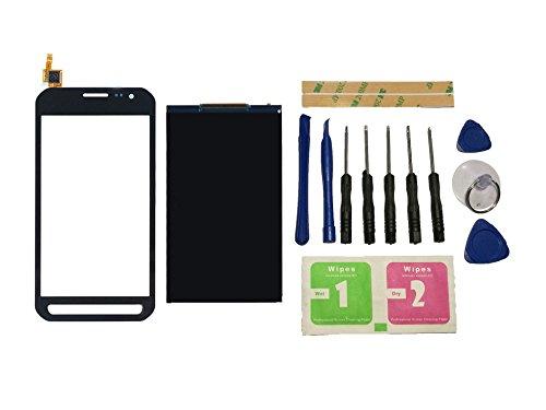 Flügel für Samsung Galaxy Xcover 3 G388 G388F Display LCD Ersatzdisplay + Touchscreen Digitizer Bildschirm Schwarz Glas (ohne Rahmen) Ersatzteile & Werkzeuge & Kleber 3.0 Lcd Display