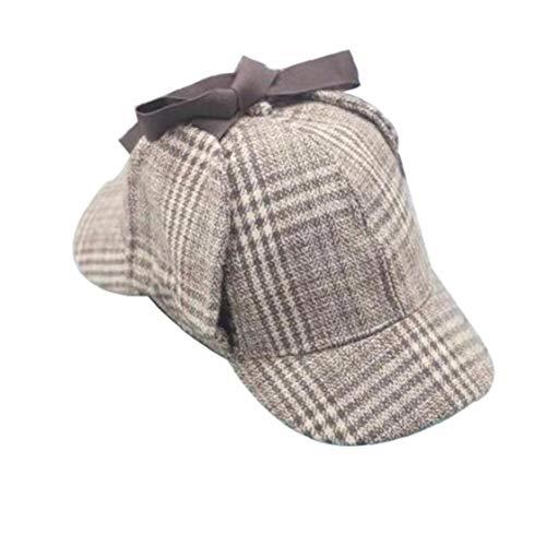 Aisoway El Detective Sherlock Unisex Cosplay Casquillo