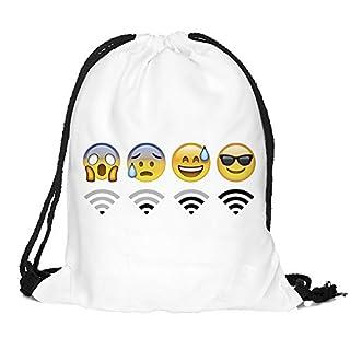 Emoji expression Backpack (Weiß, B)