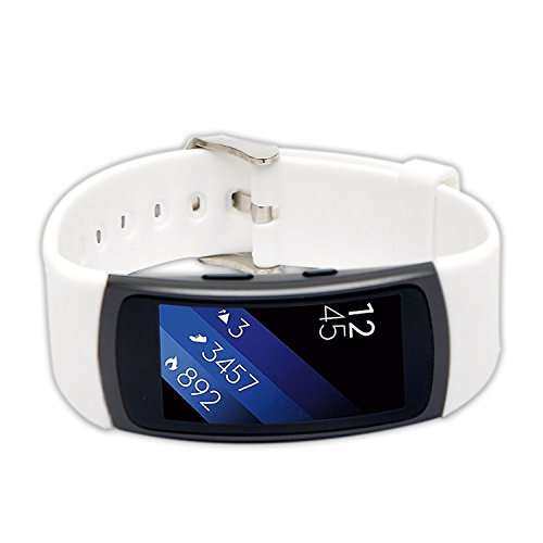Preisvergleich Produktbild Woodln Gear Fit2 Smart Watch Zubehör Uhrenarmbänder Replacement Strap Band Uhrenarmband Erstatzband Armband für Samsung Gear Fit 2 R360 Fitness Smartwatch (White)