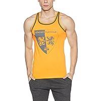 Chromozome Men's Cotton Vest (8902733381949_ST-04_X-Large_Yellow)