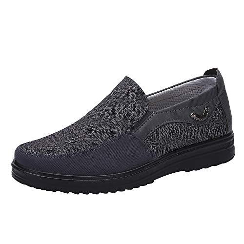 LuckyGirls Mode Nouveau Chaussures De Ville Homme Cuir Nubuck Suède Oxfords Casual Design Chaussures Plat Desert London, Derby Homme 40-48
