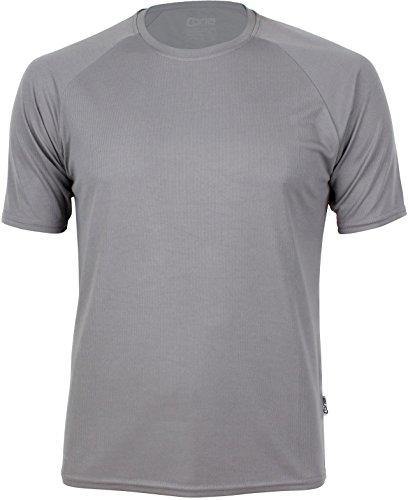 Basic Funktions - Sport T-Shirt in vielen Farben Farbe Cool Grey Größe XL