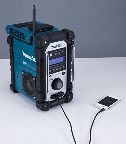 Makita Akku-Baustellenradio 7 - 4