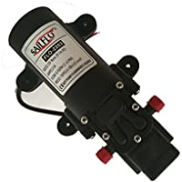 SAILFLO Bombas de presión de agua 12V DC Water Pressure Diaphragm Pump Pressure Pump for Caravan/RV/Boat/Marine ((70PSI/0.7GPM)/2203)