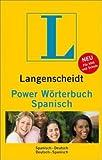 Langenscheidt Power Wörterbuch Spanisch: Spanisch-Deutsch/Deutsch-Spanisch (Diccionario)