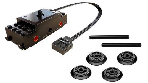 Preisvergleich Produktbild LEGO Power Functions Zugmotor / Ersatzmotor / Nachrüstmotor für z.b 10233 , 7939 , 7938 , 3677 , 4841 oder 7597