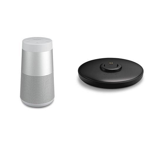 Bose SoundLink Revolve Bluetooth Lautsprecher grau + Ladeschale