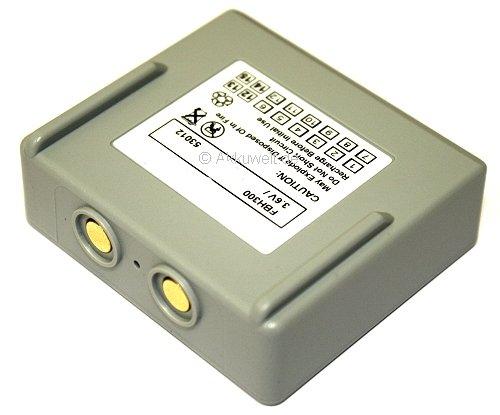 Batterie de rechange pour à hetronic Mini 68300600 68300900 68300940 68300990 Mini EX2–22 kh68300990.a Harris p5300 P5370 p5400 p5450 p5470 P7300 P7350 P7370 het300 HT 01 kh68300990.a potain P de 63418–95 2000 mAh Accu Batterie Battery bateriaa KKU Batterie