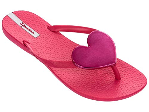 Ipanema Damen Zehentrenner Maxi Fashion 82120 (37 EU, red-pink (20168)) Maxi Fashion