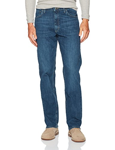 Wrangler Herren Authentics Men's Big & Tall Classic Relaxed Fit Jeans, Slate Flex, 50W / 32L - Wrangler Tall Men Jeans