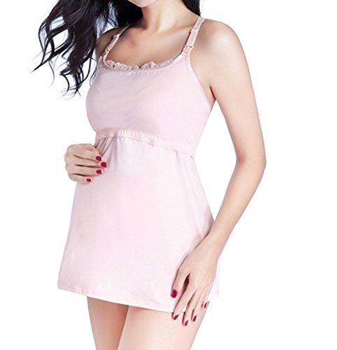 Yanyan Damen Top, rosa (Shelf Bra Camisole M)