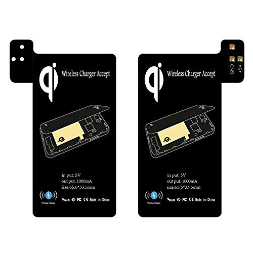 Kabelloses Laden Empfänger Qi Wireless Charging Receiver Unterstützung Smart Case ()