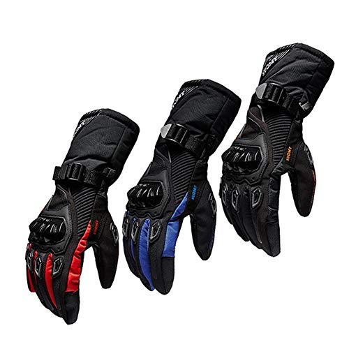 Arvin87Lyly Guantes Moto Invierno Hombre, Impermeables Y