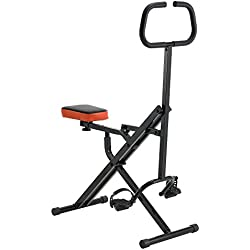 [pro.tec] Home-Trainer Total Crunch Horse Rider en Forme Jambe Ventre Justaucorps