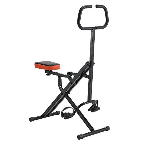 [pro.tec]® Máquina de ejercicios body crunch para abdominales fitness entrenamiento completo y eficaz