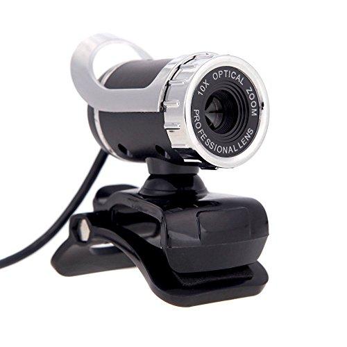 Webcam - TOOGOO(R)HD Webcam de 12 megapixeles Camara giratoria de 360