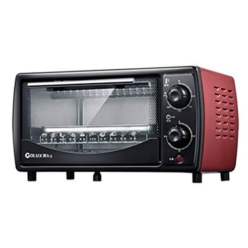 ZXX-wr Elektrischer Ofen Und Grill des Haushalts 12L Mit Mehrfachen Kochenden Funktionen, Justierbarer Temperatursteuerung Und Timer - 700W