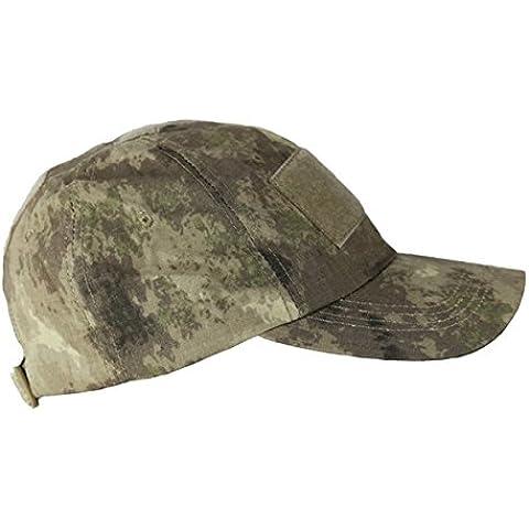 Combat Baseball Cap Pietra deserto Smudge operatori Cap Airsoft (Pannello Cadet Cappello)