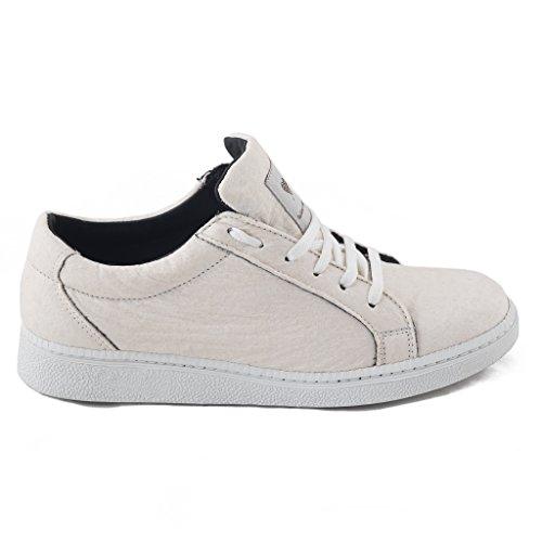 Nae Basic White - Sneaker, der aus Dem Innovative Obermaterial Piñatex, Einem Stoff, der aus Den Blättern der Ananas Hergestellt Wird - vegane Schuhe (41) - 2