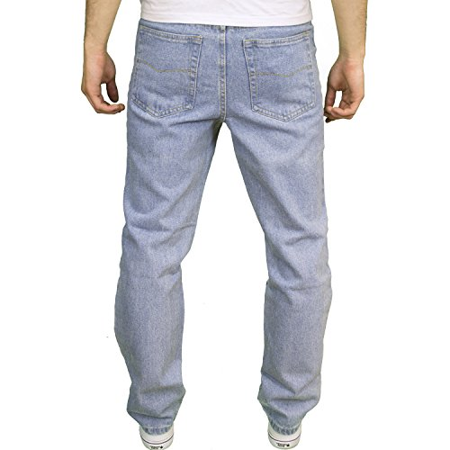 BLUE CIRCLE Herren Jeanshose Light Stonewash