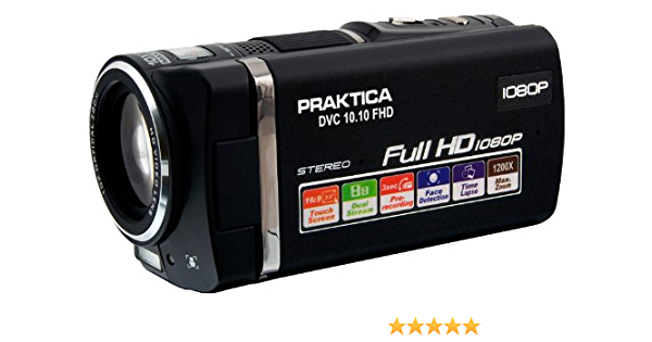 Praktica Dvc 10 10 Fhd Camcorder 3 5 Zoll Schwarz Kamera