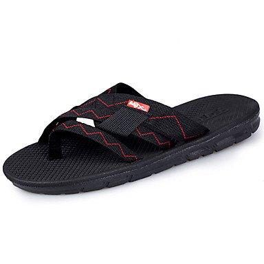 Sandali con tacco Walking Slippers & Estate Comfort PU esterna piani degli uomini sandali US10 / EU43 / UK9 / CN44