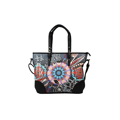 Sac cabas imprimé SMASH BETTINA BAG - .Multi-couleur
