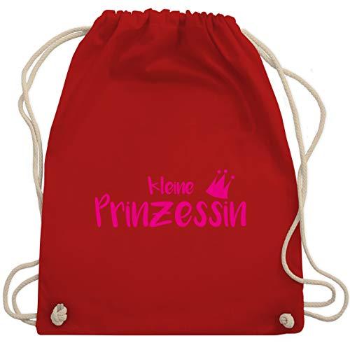 Sprüche Kind - Kleine Prinzessin - Unisize - Rot - WM110 - Turnbeutel & Gym Bag