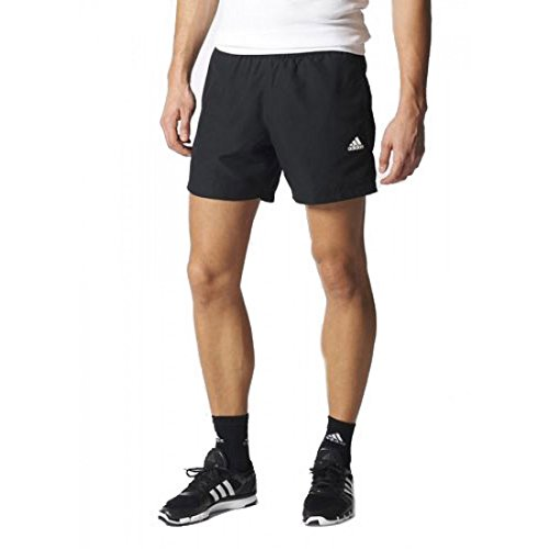 adidas Herren Shorts Sport Essentials Chelsea, Black/White, L (Running-adidas Shorts)