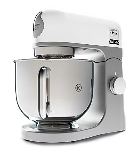 Kenwood kMix KMX750WH   Robot de cocina (potencia 1000 W  capacidad de 5 litros  6 velocidades y 3 herramientas) color blanco