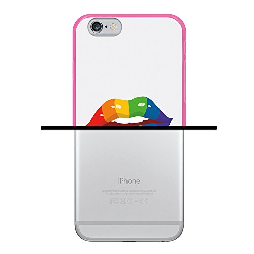 iPhone 6 6S Hülle, WoowCase Handyhülle Silikon für [ iPhone 6 6S ] Bunte Mandala Handytasche Handy Cover Case Schutzhülle Flexible TPU - Transparent Housse Gel iPhone 6 6S Rosa D0344
