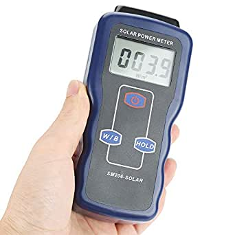 Misuratore di energia solare SM206 Strumento per test di misurazione digitale della radiazione solare