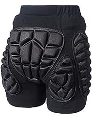 EZSTAX Pantalones de Protección Pantalones de Esquí para Proteger Cortos Acolchados para Niños y Adultos Accesorios Deportivos