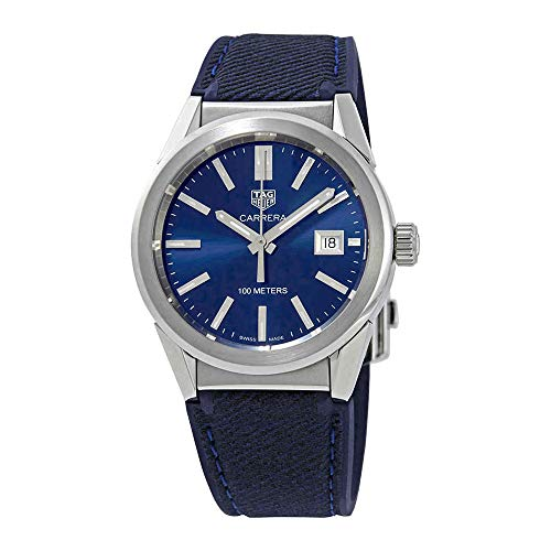 Tag Heuer Carrera Blue Dial Midsize orologio WBG1310.FT6115