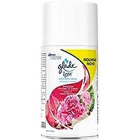 Glade By Brise Automatic Spray Désodorisant, Fraîcheur et Parfum d'Ambiance dans la Maison, Recharge Incluse (269 ml), Douceur Pivoine et Cerise