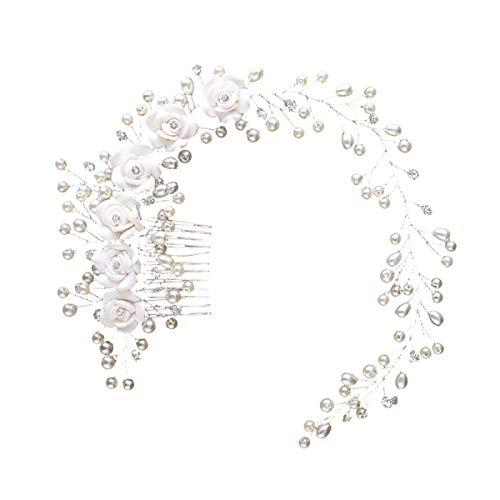 Horquillas en espiral para el pelo, 20 unidades, color negro