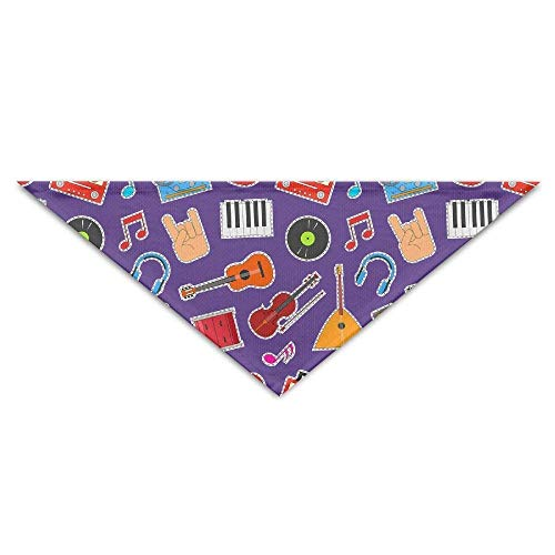 Musical Instruments and Equipment Pet Dog Cat Puppy Bandana Triangle Bibs Scarf Accessories for Animals -