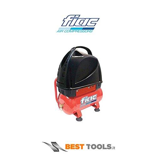Compresor aire 6Lt Fiac F3100/6con asa transporte