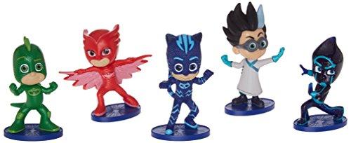 PJ Masks - Pack de 5 figuras (Bandai 24580)
