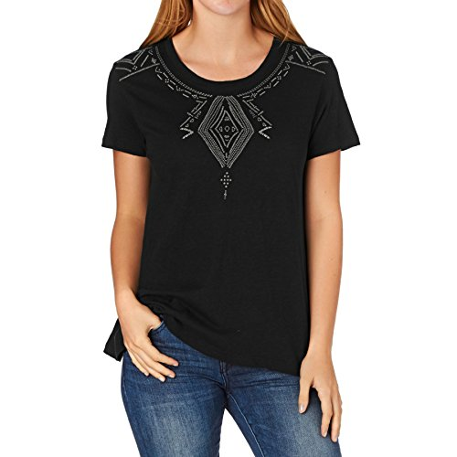 Roxy Damen Point J Screen Tee Black