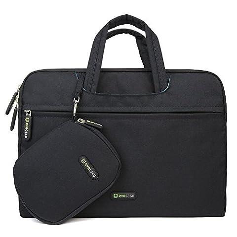 Evecase Universal Aktentasche für 30-35,5 cm (12,2-14 Zoll) Tablets/Notebook inkl. Zubehörbeutel & Mauspad -