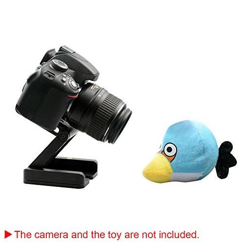 Andoer® Camera Head Solution Photography Studio Camera Tripod Z Pan Tilt Flex Tilt Head Aluminum Alloy
