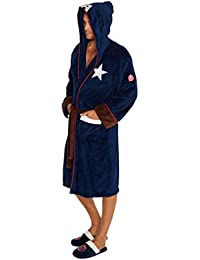 Officiel Marvel Avengers Captain America Costume Guerre Civile Peignoir Peignoir