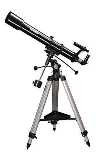 Sky-Watcher Lunette 90/900 Sur Monture équatoriale EQ2, Noir