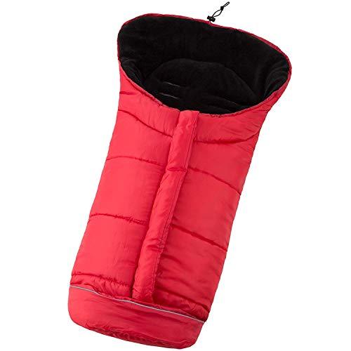 Winter Standsack Sitzsack Schlafsack Schlafsack Reißverschluss Wintertasche für Kinderwagen,...